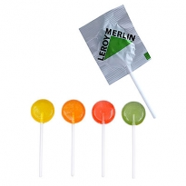 Fruchtige Lollies in bunten Farben